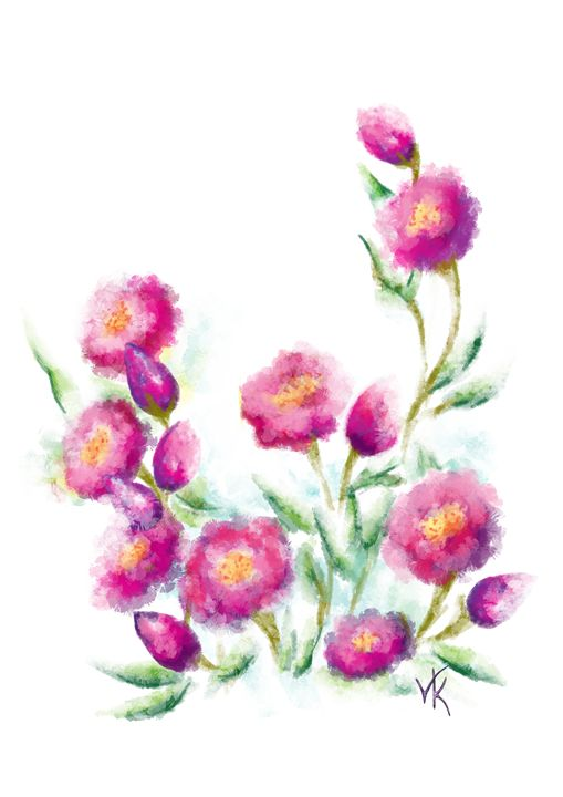 Pink flowers - Velis