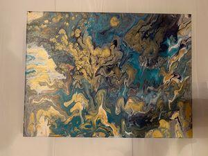 blue intricacy
