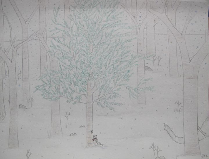 A Meereck's Xmas Tree 1 - Teck. The Den
