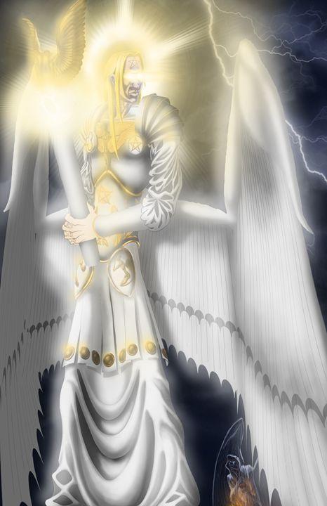 Lucifer Morningstar, The White Angel - Crimsonfang Productions - Digital  Art, Fantasy & Mythology, Other Fantasy & Mythology - ArtPal