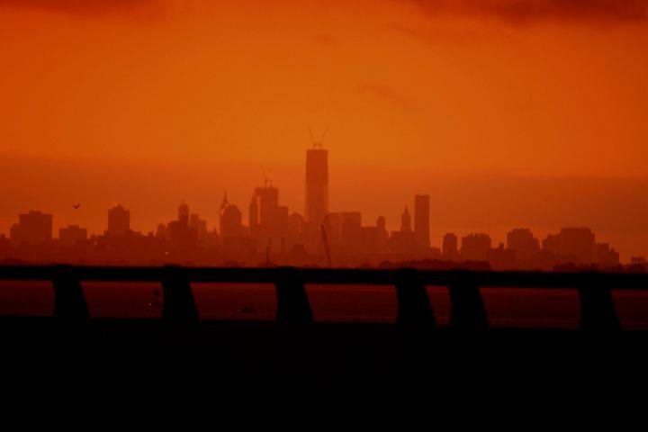 orange skies 2 - Sven Baldwin