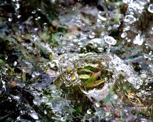 a small splash