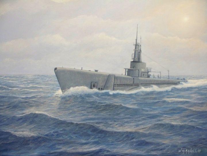 Submarine  Jallao - RaVell Fine Art Studio