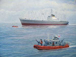 U. S. Coast Guard Escort