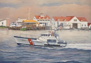 Coast Guard Rescue Boat