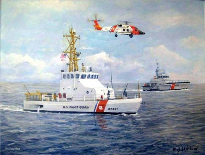 The Modern U. S. Coast Guard - RaVell Fine Art Studio