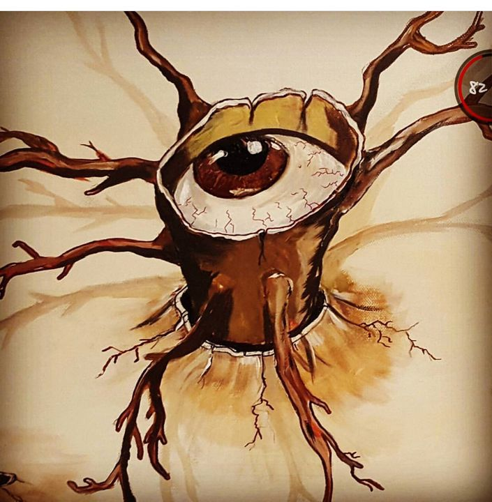 Eye for an eye - Elias Nieves Art_