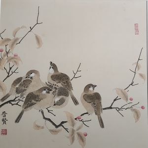 chinese traditional smart painting