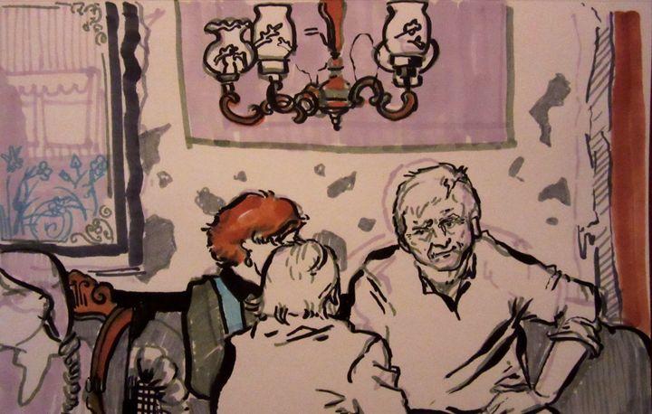 Cafe Stofan, Iceland - Cooper's Illustration