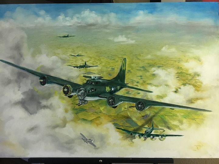 The Memphis Belle - The  Colors  of  Emotion