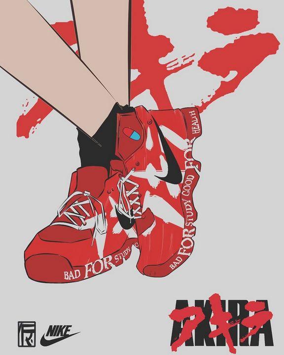 Akira shoes wallpaper - Aditya Fatma Ramadhan