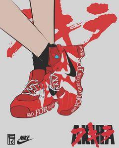 Akira shoes wallpaper