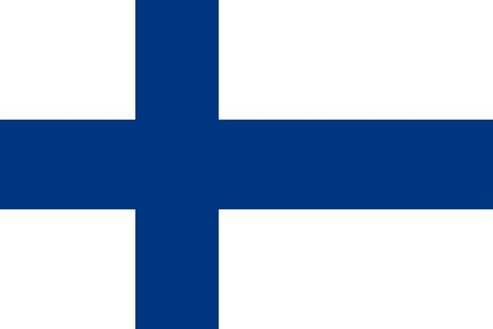 Finland Country Flag Art - Brian Kindsvater Art