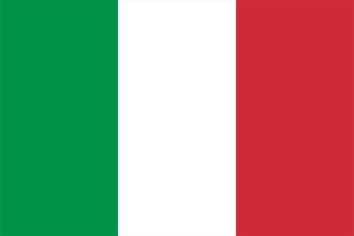 Italy Country Flag Art - Brian Kindsvater Art