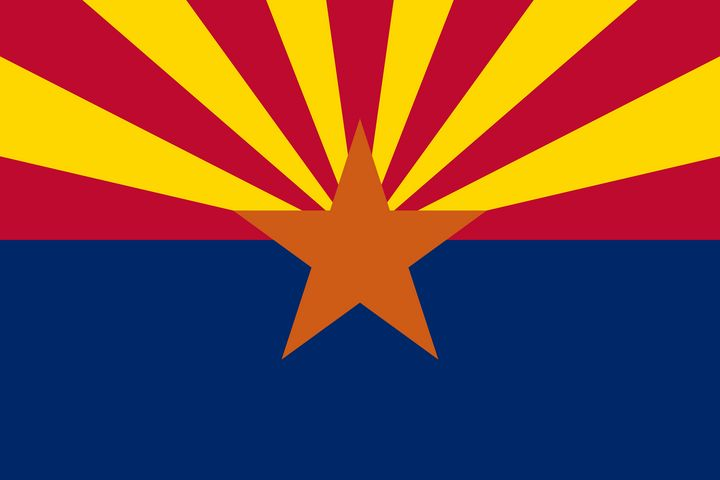 Arizona State Flag - Brian Kindsvater Art