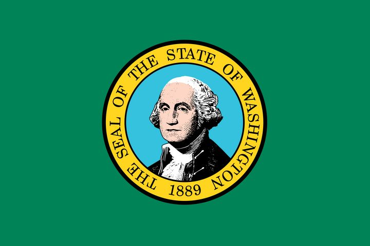Washington State Flag Art - Brian Kindsvater Art