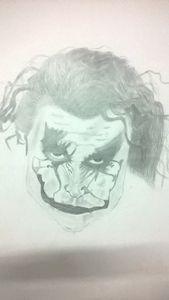 joker wall sketch