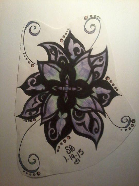 Mandala - Sabrina's paintings