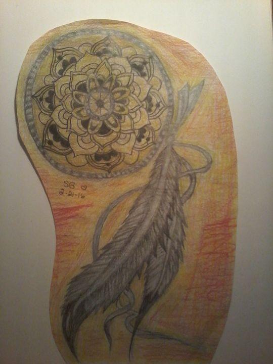 Dreamcatcher - Sabrina's paintings