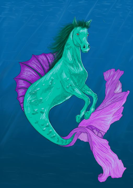 Seahorse/Hippocampus - Muscle Chubby