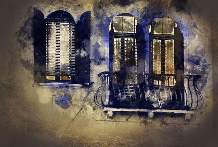 Magic windows, magic nights - ArtMixMart
