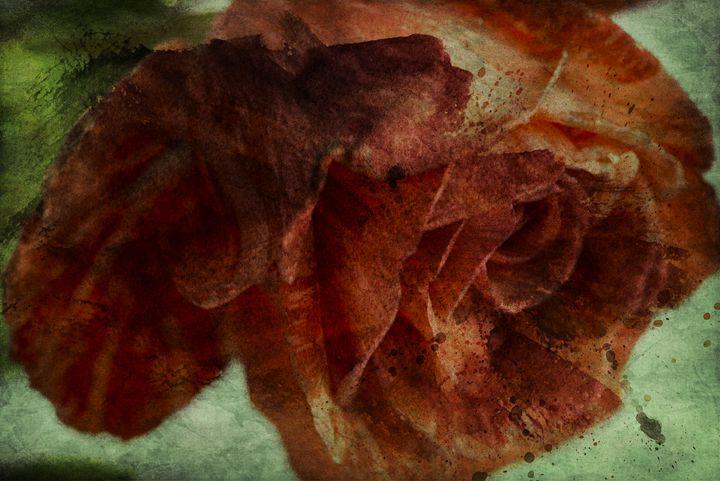 Flaming flower - ArtMixMart