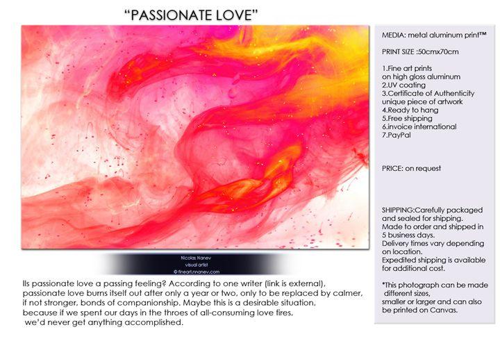 PASSIONATE LOVE - fineart