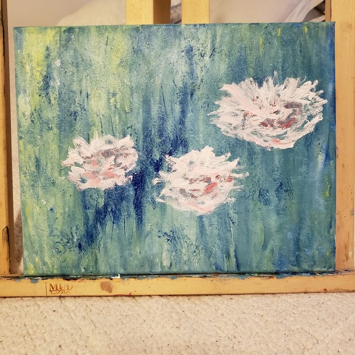 Water lilies - Nina Zachary