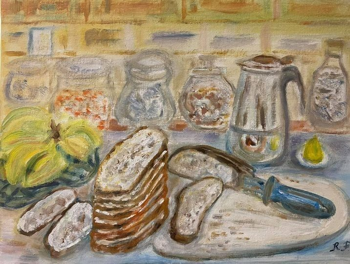 On our Counter - Panuszka's paintings