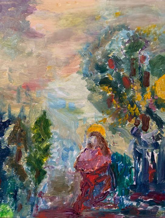 Gethsemane Garden - Panuszka's paintings
