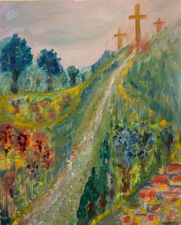 Symbolic - Ways - Panuszka's paintings