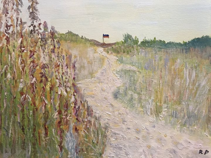 Oats and Dunes - Panuszka's paintings