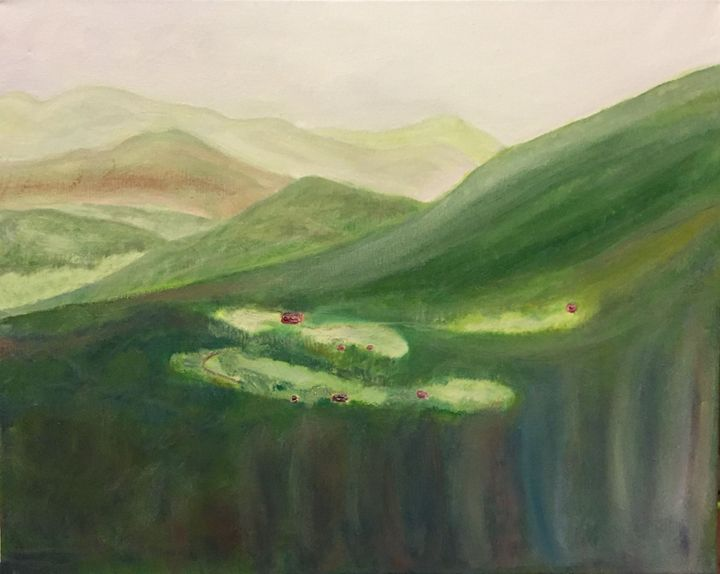 """Appalachian landscape"" - Panuszka's paintings"