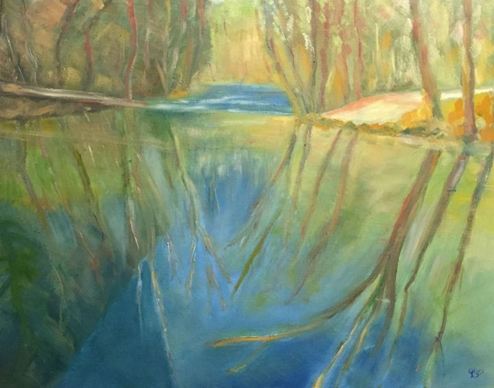 """""""Meander of the River"""". - Panuszka's paintings"""
