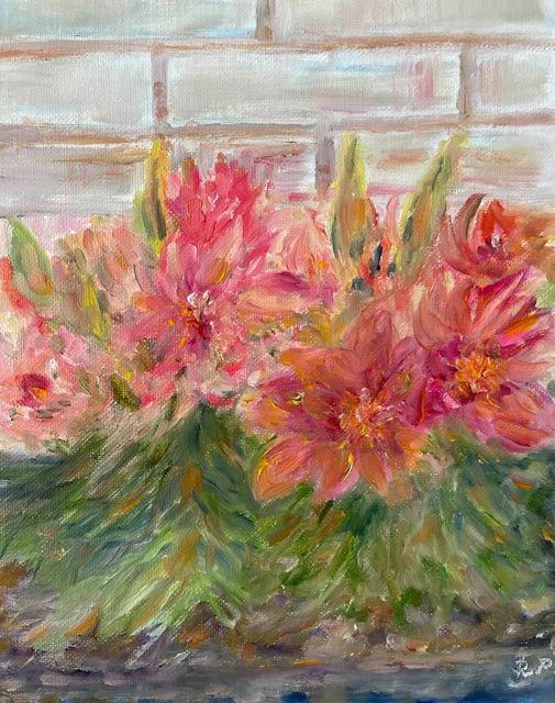 Tiger Lily - Panuszka's paintings