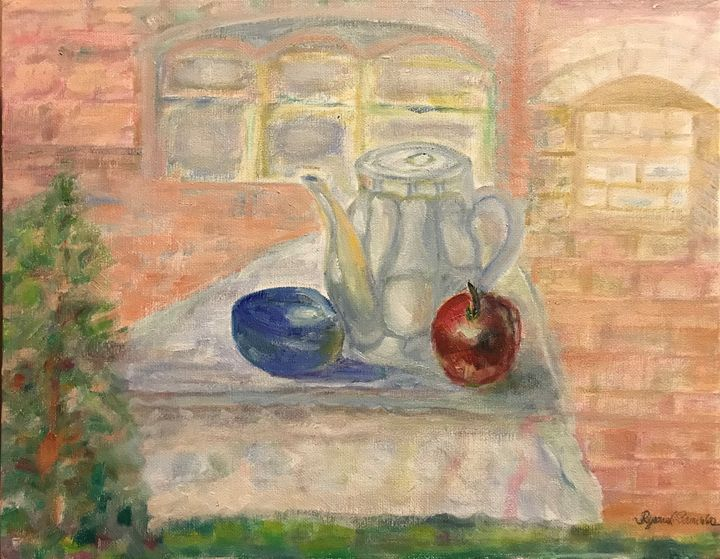 Still Life in Pleinair - Panuszka's paintings