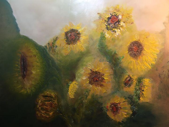 """Spirit of Sunflowers"" - Panuszka's paintings"