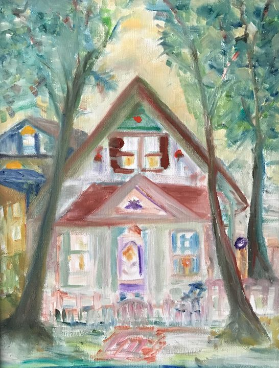 Zionsville IN  House - Panuszka's paintings