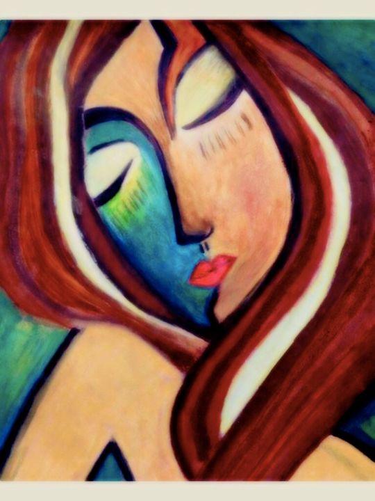 Sleeping Lover - Laura Kocian