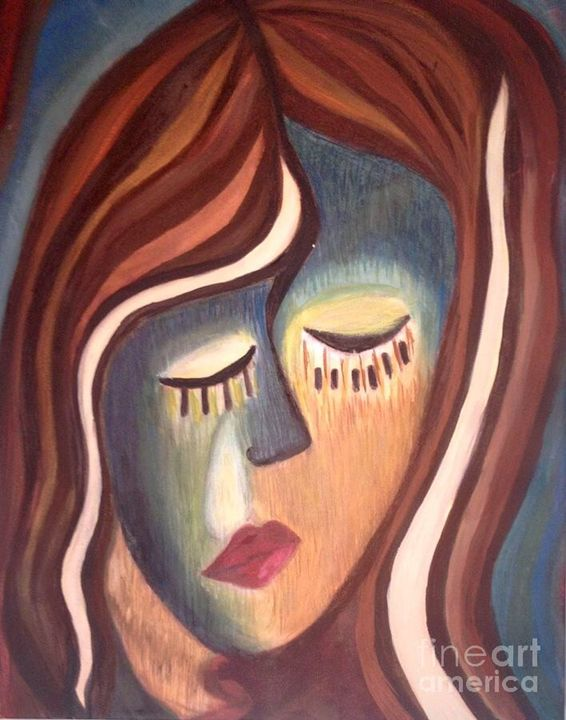 Disheartened Woman - Laura Kocian