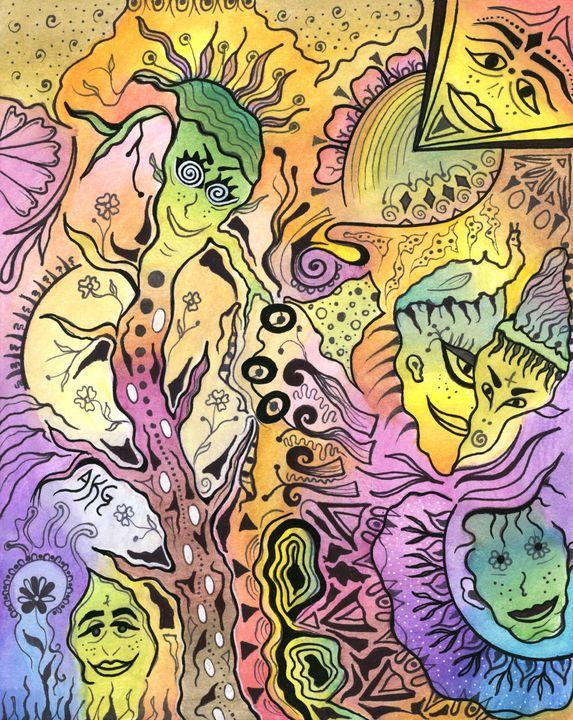 Herby Peace Tree - Amara Kay Gogia