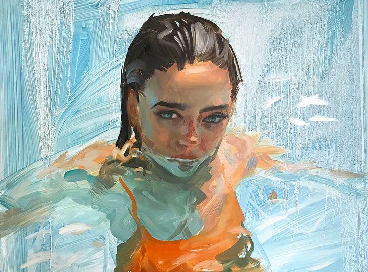 Swim - Paintings