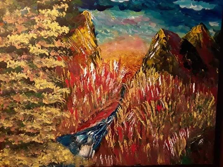 gold hook mountain - Cullen Tarver