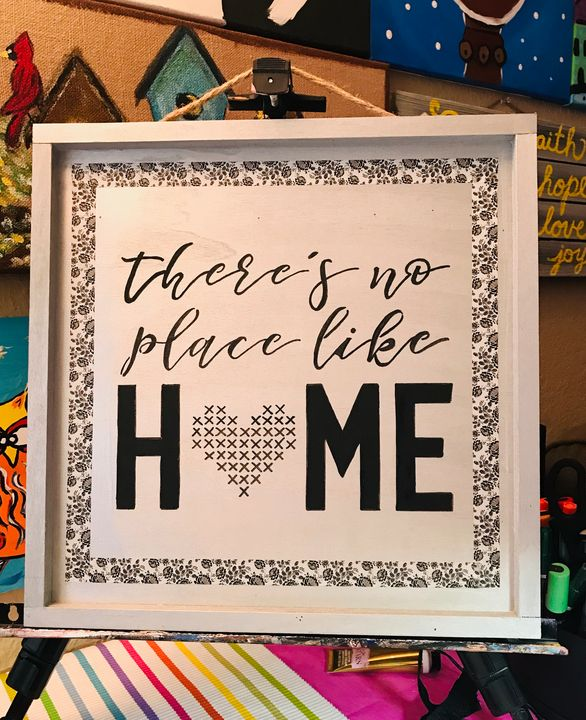 There's No Place Like Home - Altered Memos Crafts