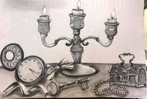 Still Life Pencil Art
