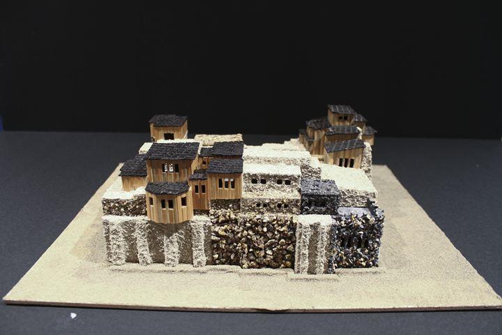 Ancient Village: Right Side - John Mathews Art Models