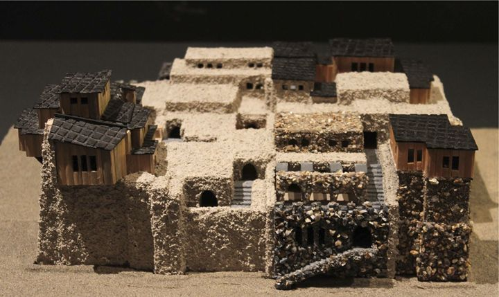 Ancient Village: Left Side - John Mathews Art Models
