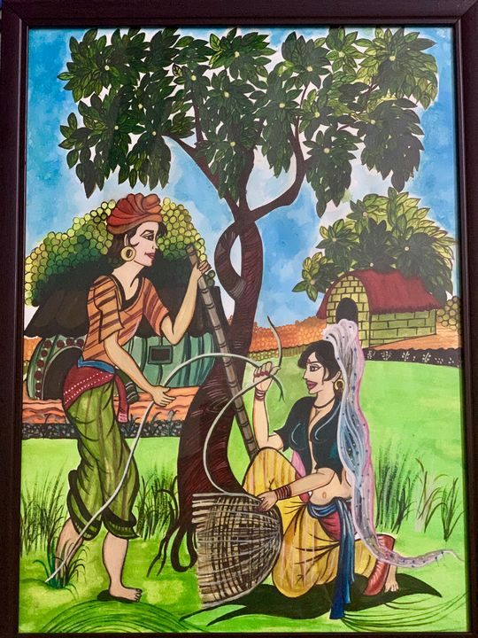 Madhubani Art - Art Cravings