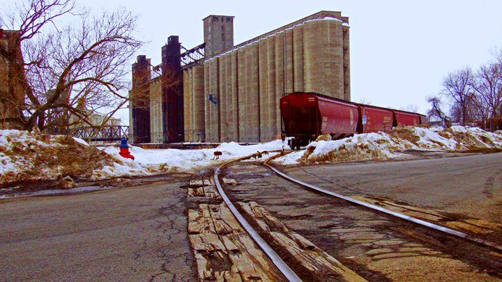 Buffalo Grain Elevator - Matthew Zelasko