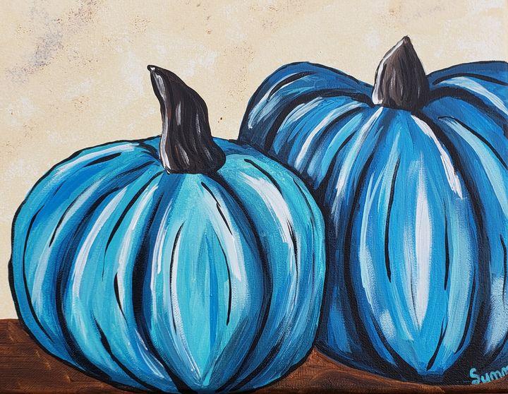 Blue pumpkins - Endless Summers Gallery